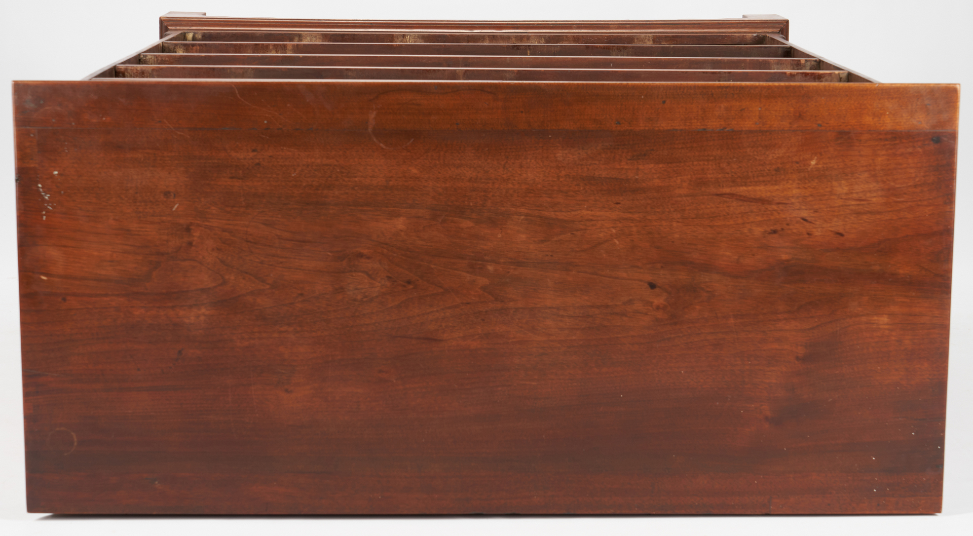 Lot 192: Heart Inlaid Chest of Drawers, poss. Virginia