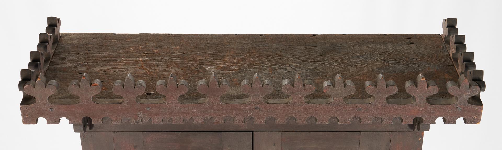Lot 194: Folk Art Plantation desk