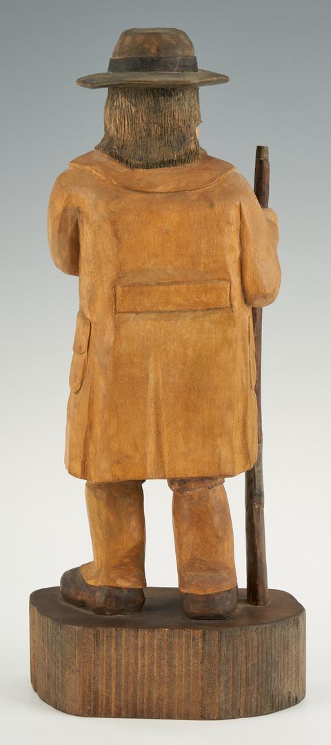 Lot 196: 2 Roy Pace Folk Art Carvings