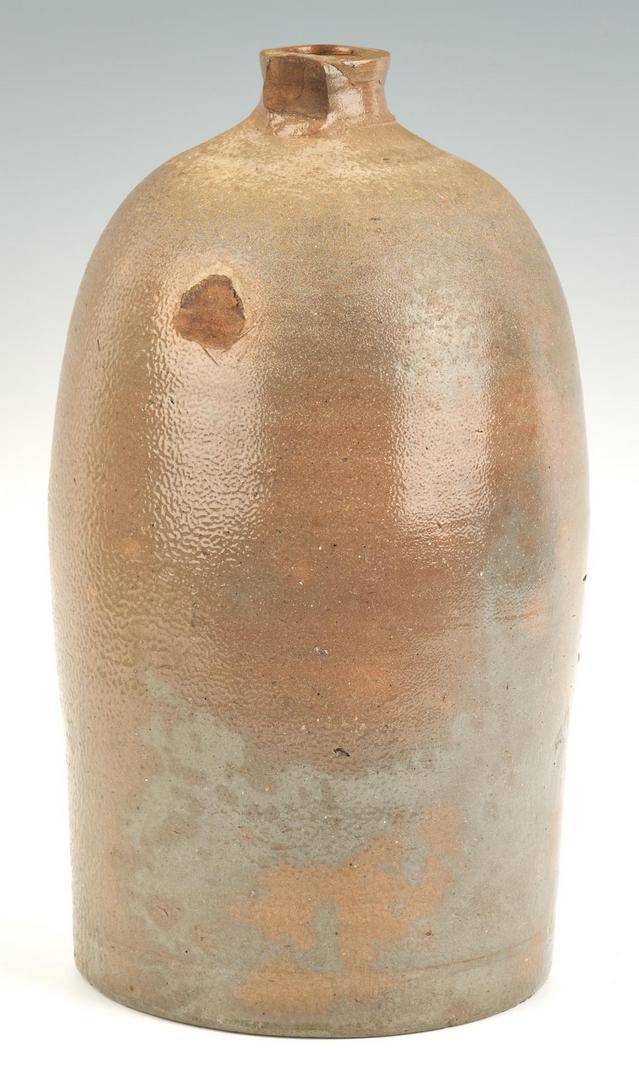 Lot 210: 2 TN Stoneware Jugs, Harmon & L. Haun