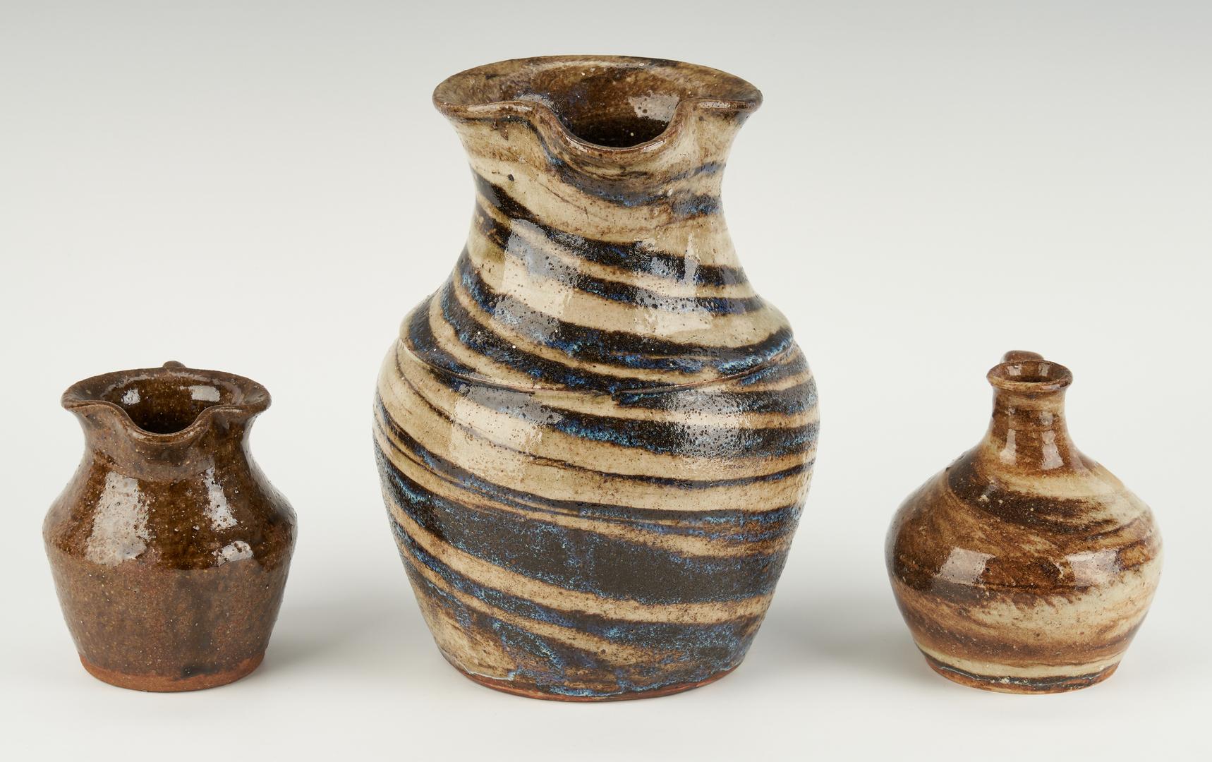 Lot 221: NC Stoneware Pottery, incl. Propst & Reinhardt