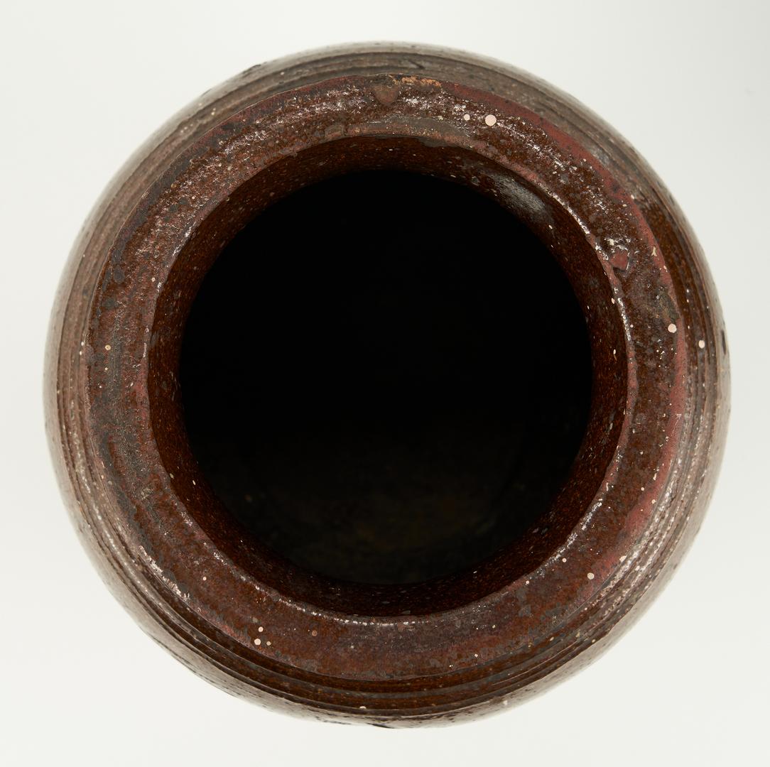 Lot 222: 3 North Carolina Pottery Items, incl. WM Penland