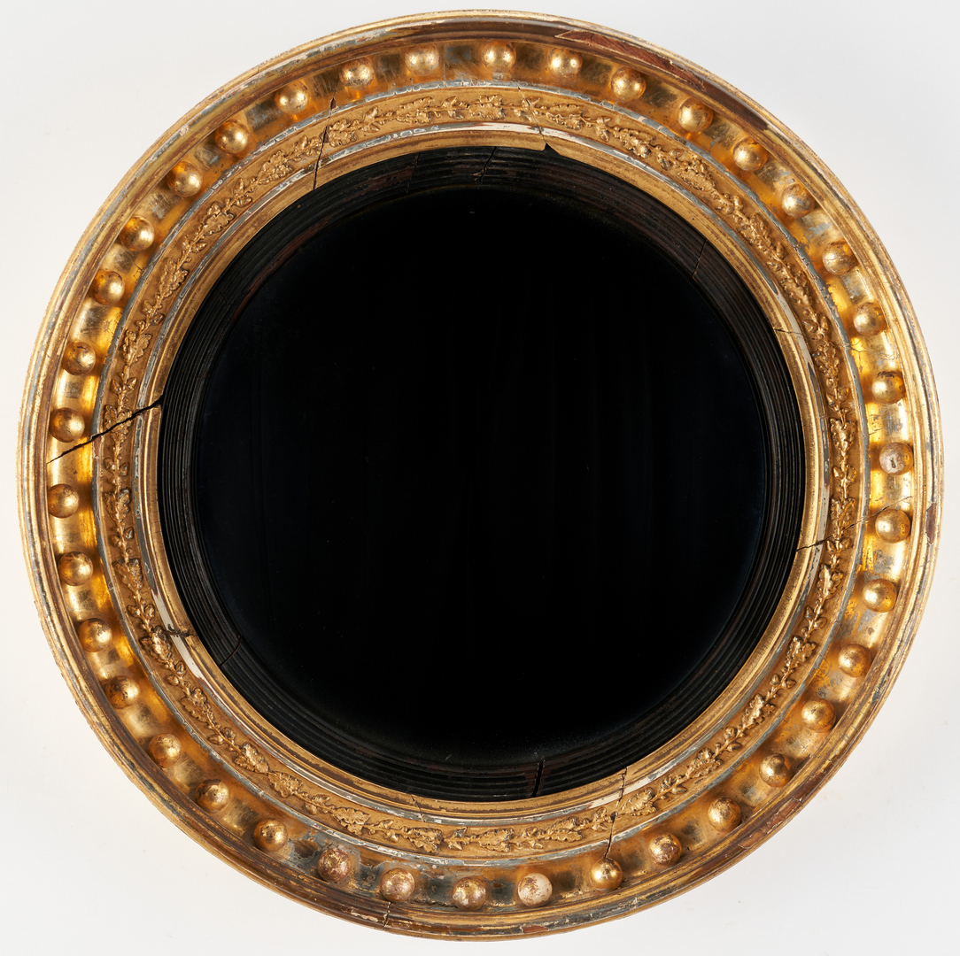 Lot 229: American Federal Bullseye Mirror