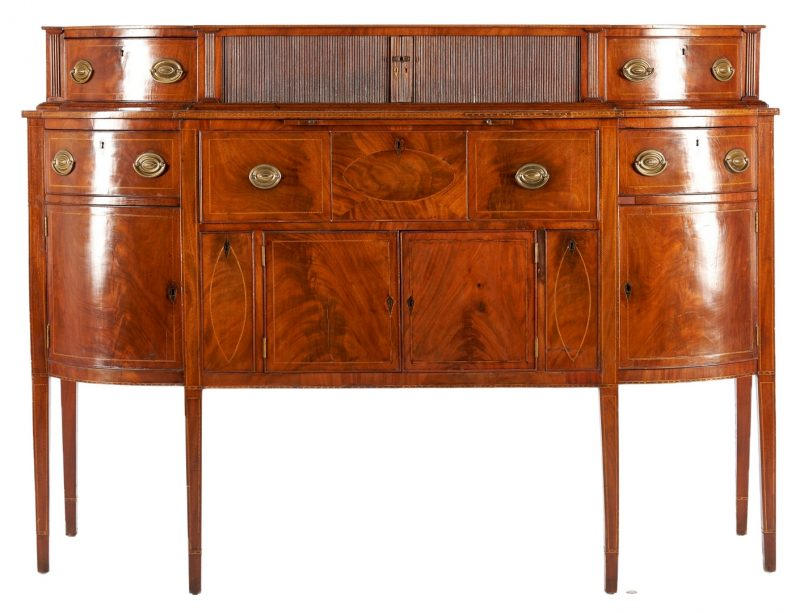 Lot 230: Federal Sideboard Desk, Mid-Atlantic or VA