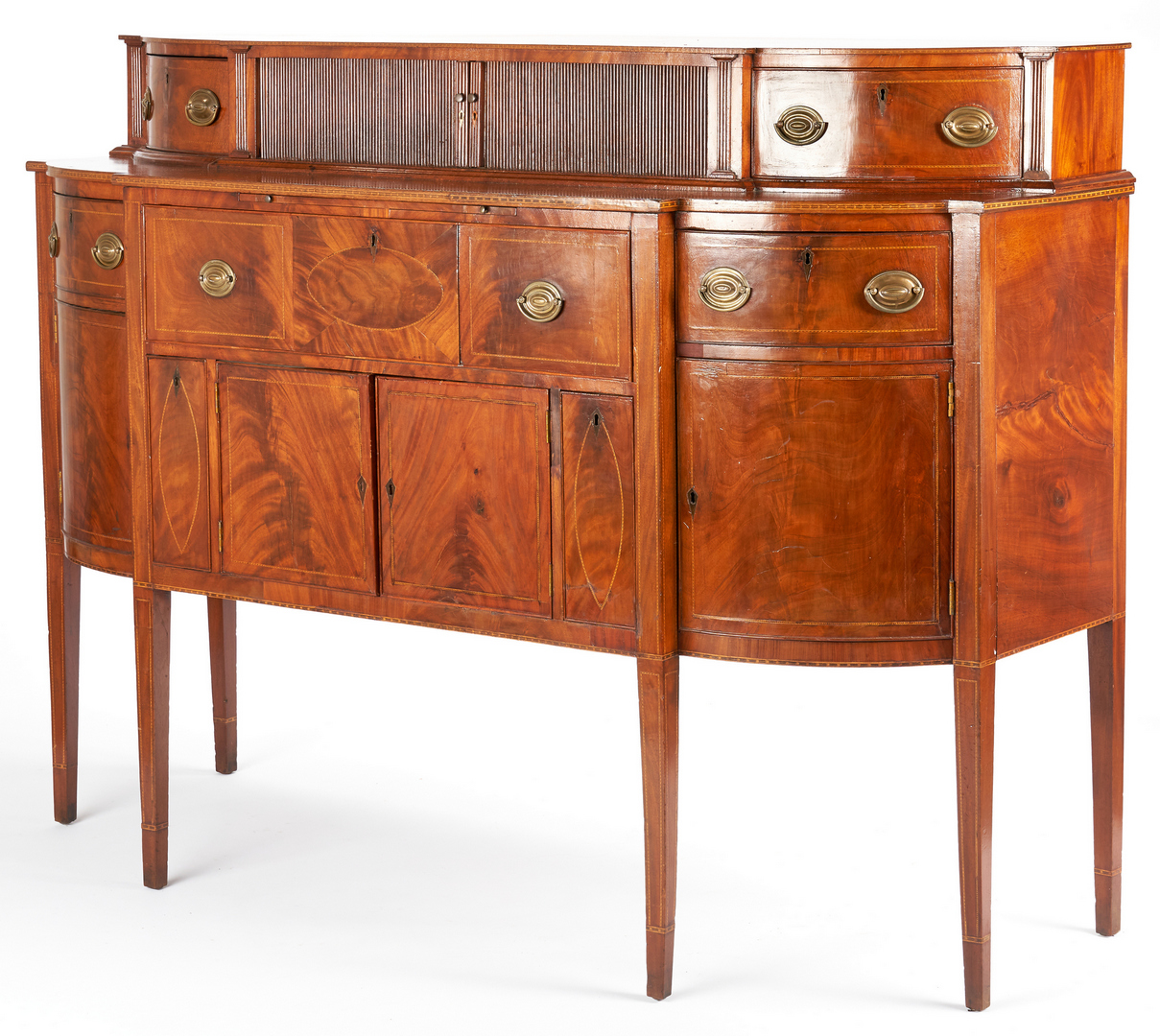 Lot 230: Federal Sideboard Desk, Mid-Atlantic or VA