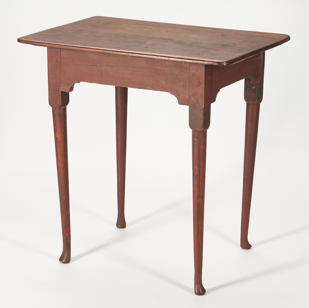 Lot 234: American Red Wash Tavern Table