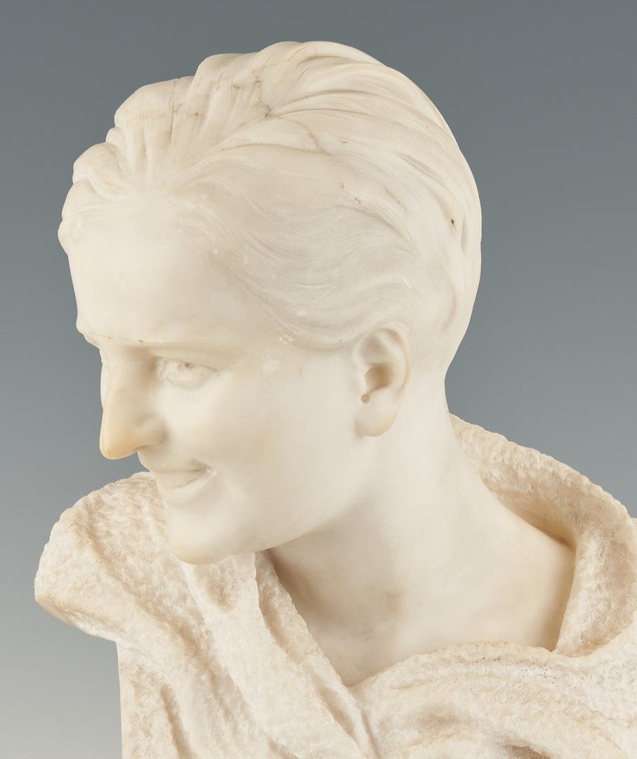 Lot 245: Italian Alabaster Sculpture, Giusto Viti