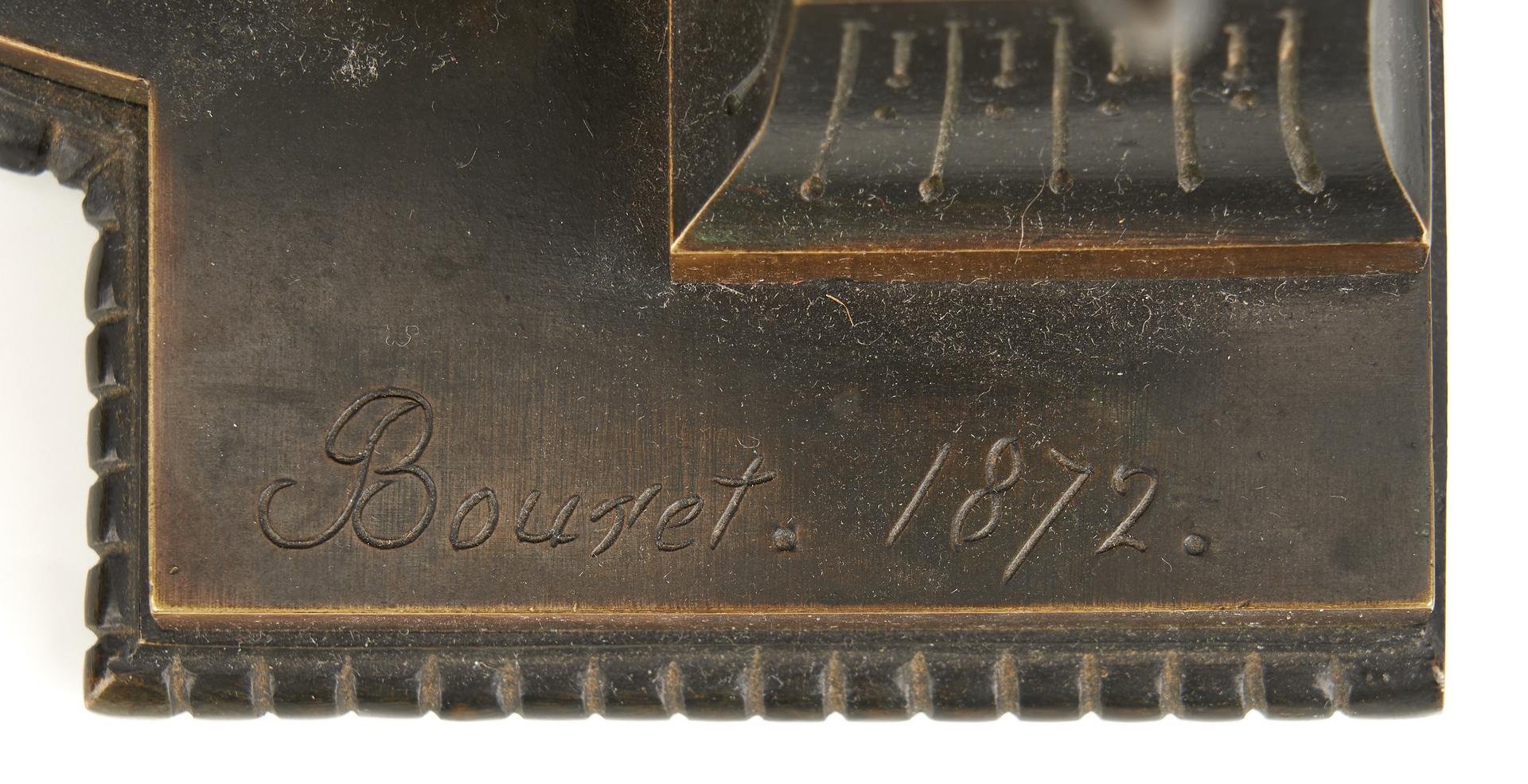 Lot 246: Bronze Cleopatra Sculpture signed E. Bouret