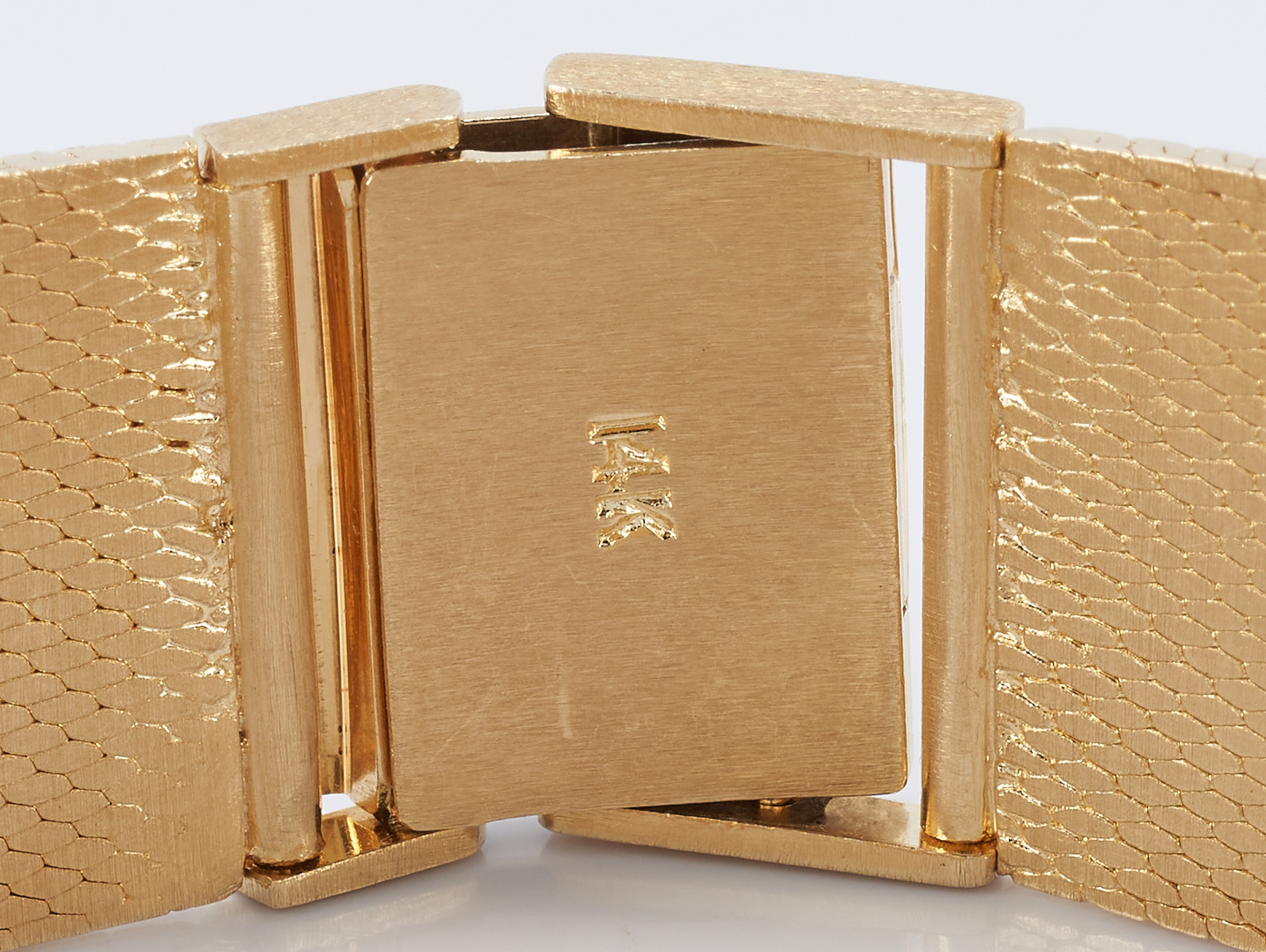 Lot 265: Vintage Men's 14K Gold Geneve Watch