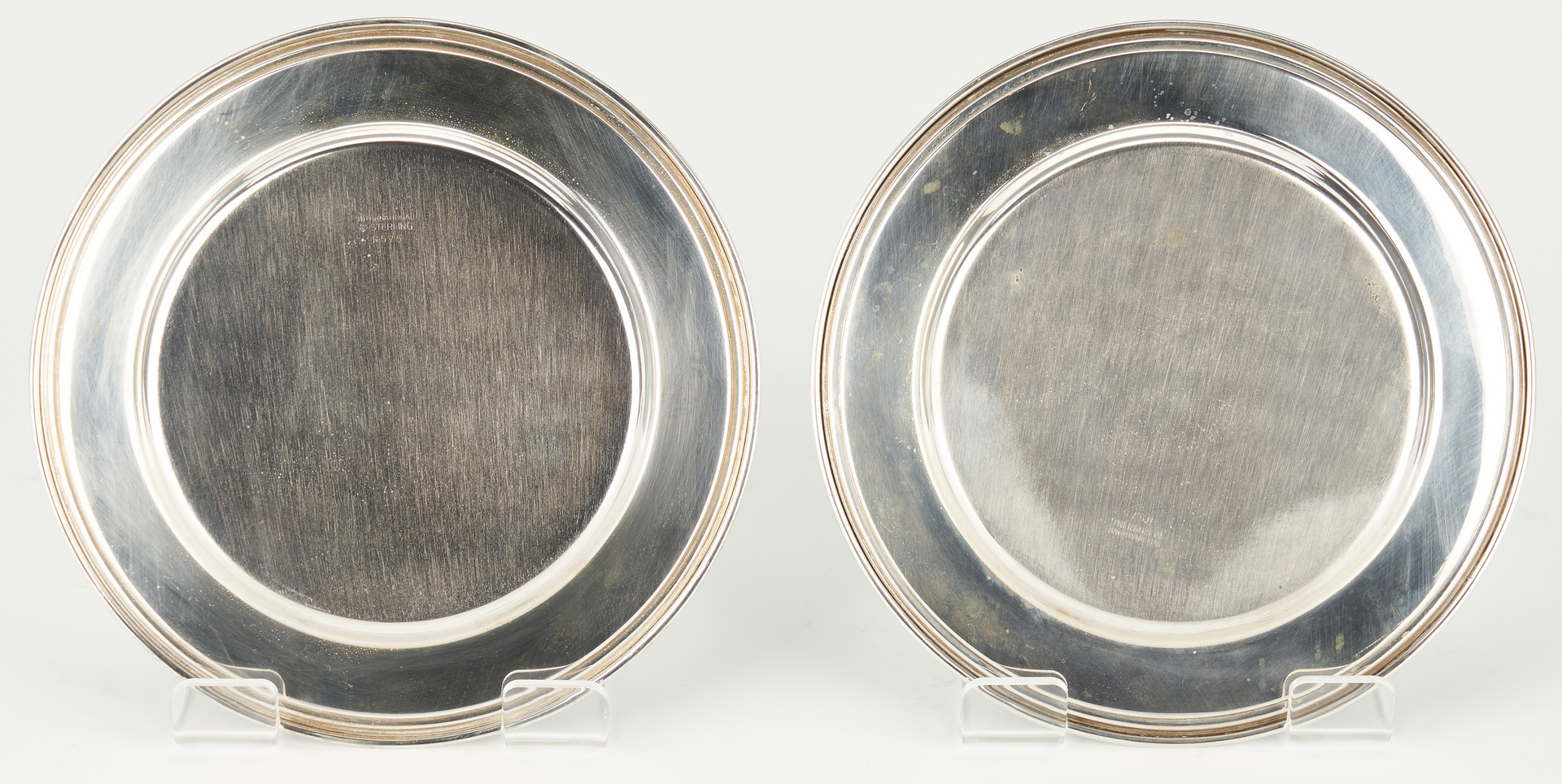 Lot 289: Group of 20 Sterling Silver Bread Plates