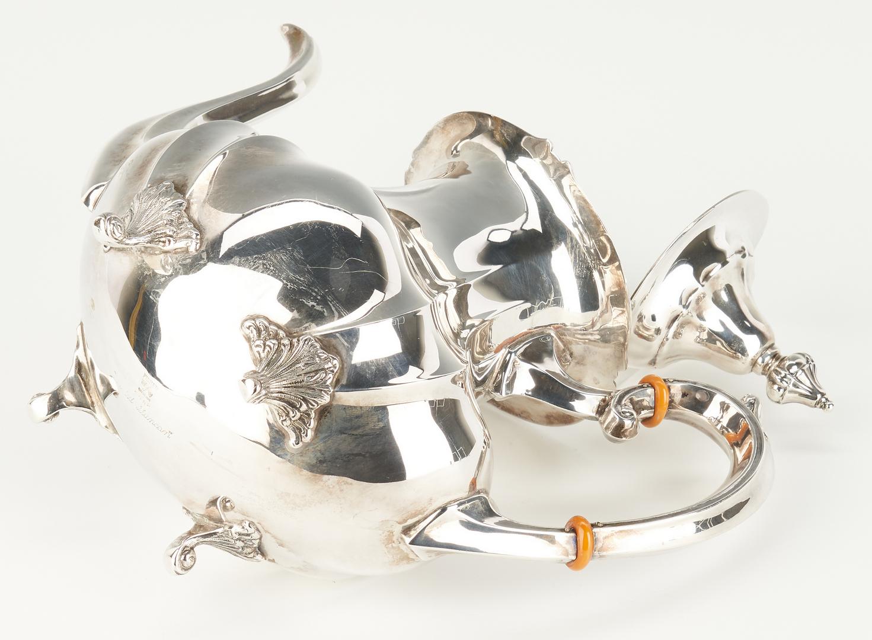Lot 294: Fisher 3-Piece Sterling Silver Tea Set