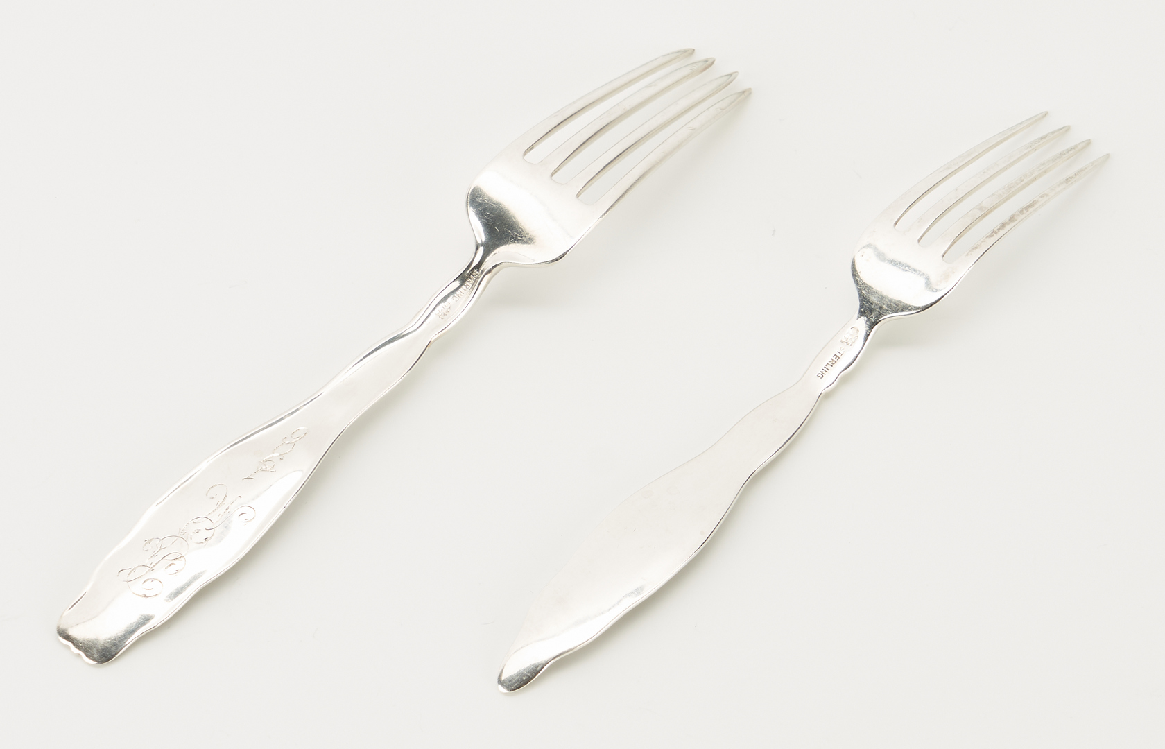 Lot 297: 52 Pcs. Sterling Flatware, incl. Whiting Lily of Valley