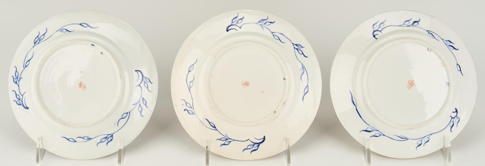 Lot 306: 38 Royal Crown Derby Porcelain Kings Pattern Dinnerware Pieces