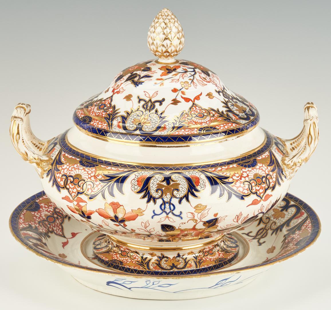 Lot 309: 6 Royal Crown Derby Serving Items, Kings Pattern