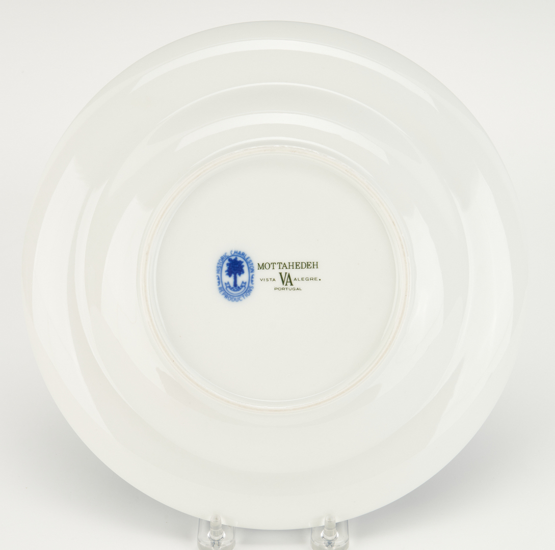 Lot 318: Mottahedeh Blue Canton Dinner Service for 12