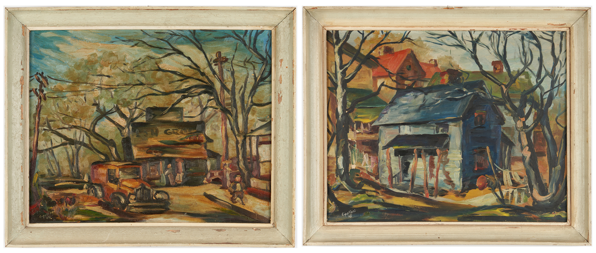 Lot 322: 2 Mary Cipolloni Knoxville, TN Paintings