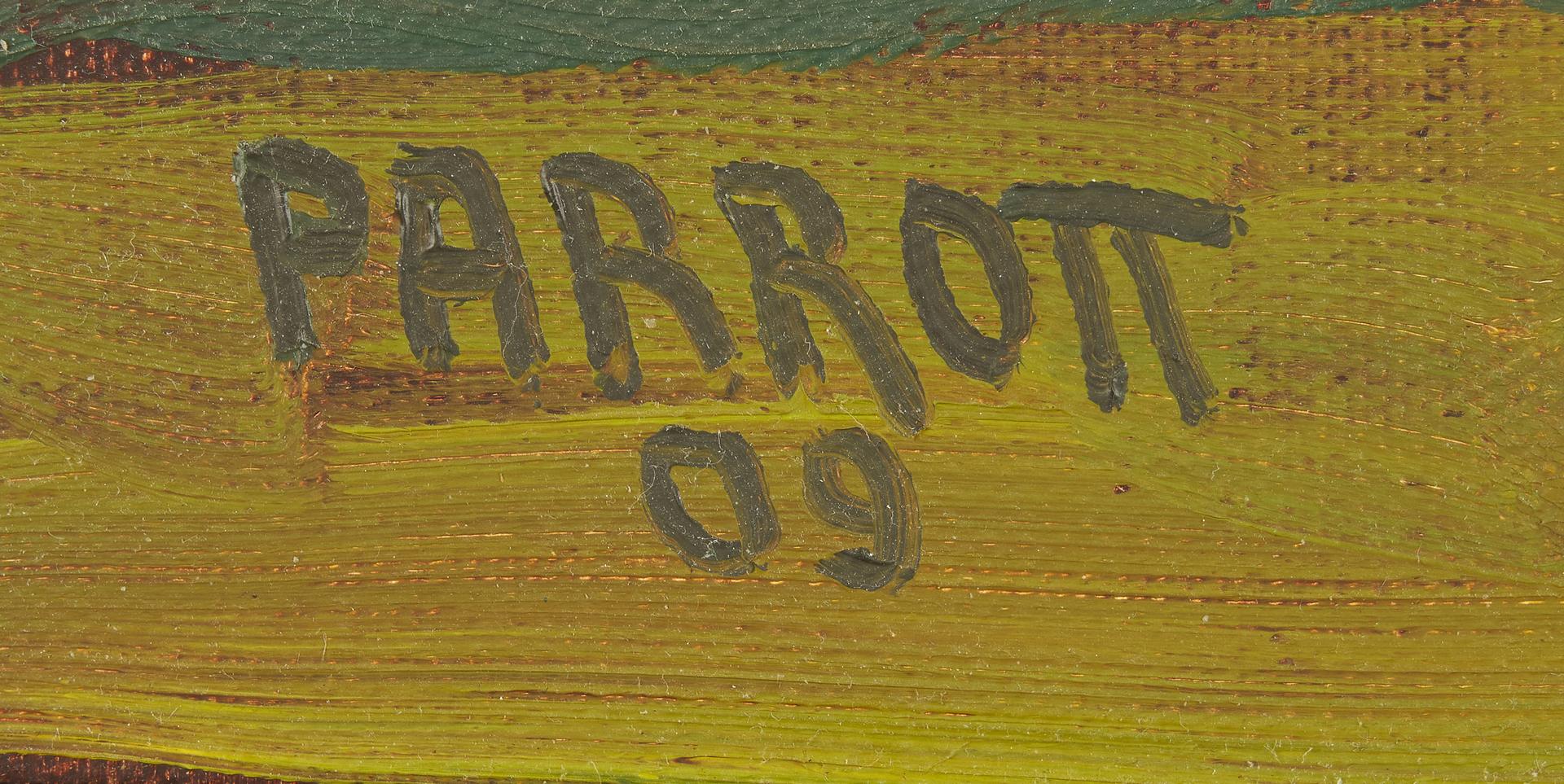 Lot 328: Joe Parrott O/C, Talahi Fountain, Knoxville