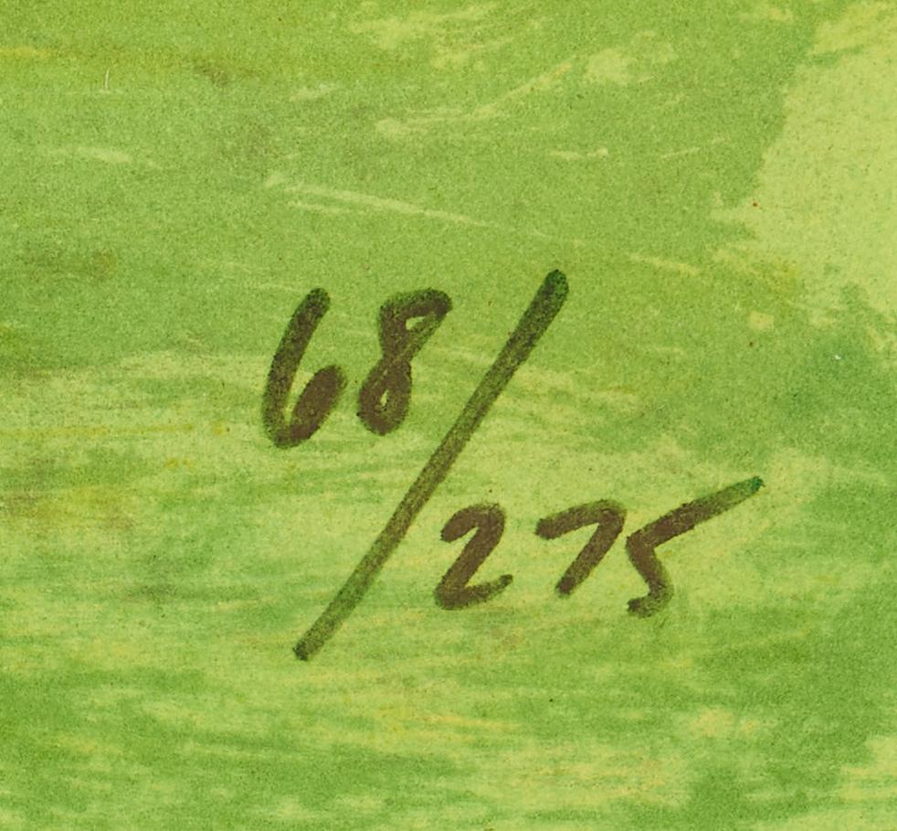 Lot 336: Rodrigue Blue Dog Lithograph, Choo Choo Ch'Boogie