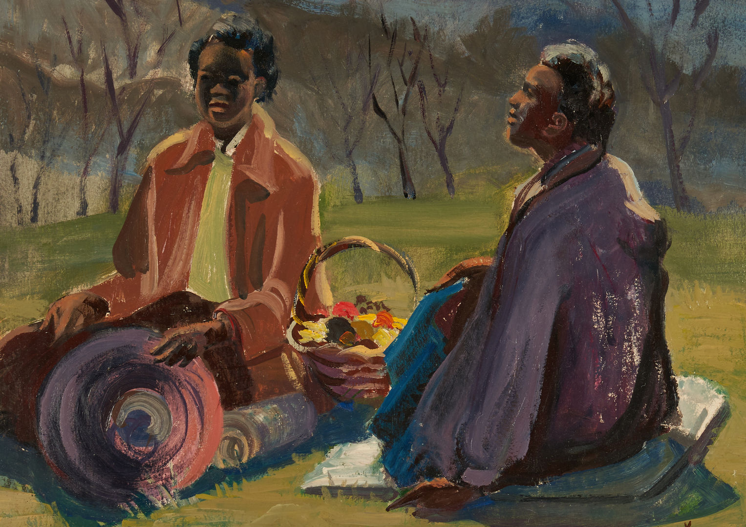 Lot 342: Georgiabelle Clark O/B, Picnic