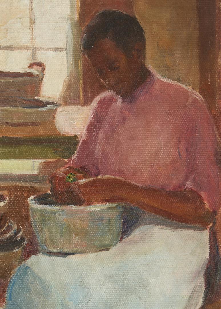 Lot 343: American School Portrait of an African American Woman