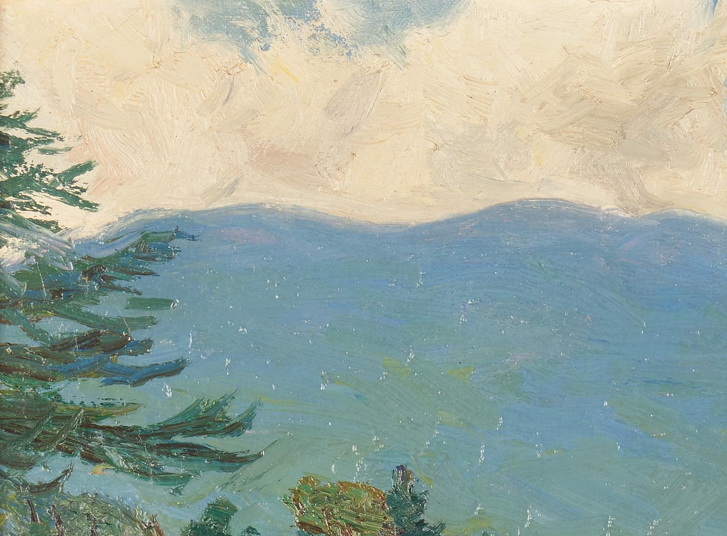 Lot 354: Robert Emmett Owen, New England Landscape O/C