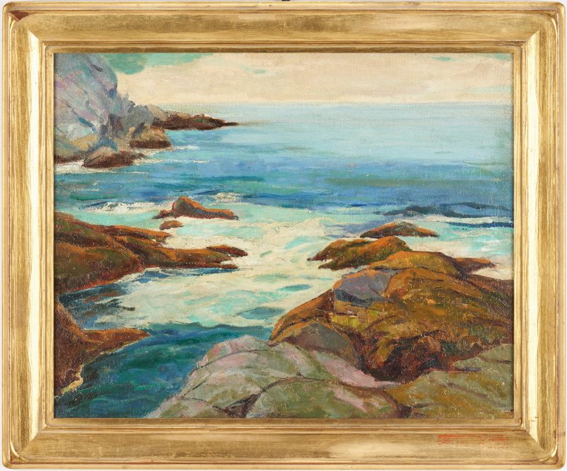 Lot 358: George Adomeit O/B Coastal Landscape
