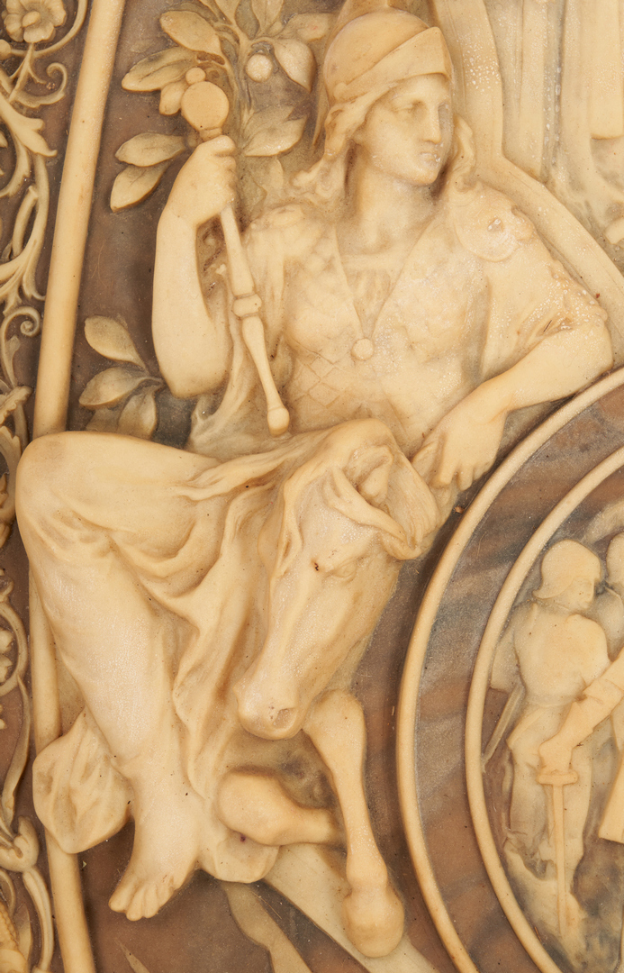 Lot 404: 2 Bas Relief Plaques, Columbus Related