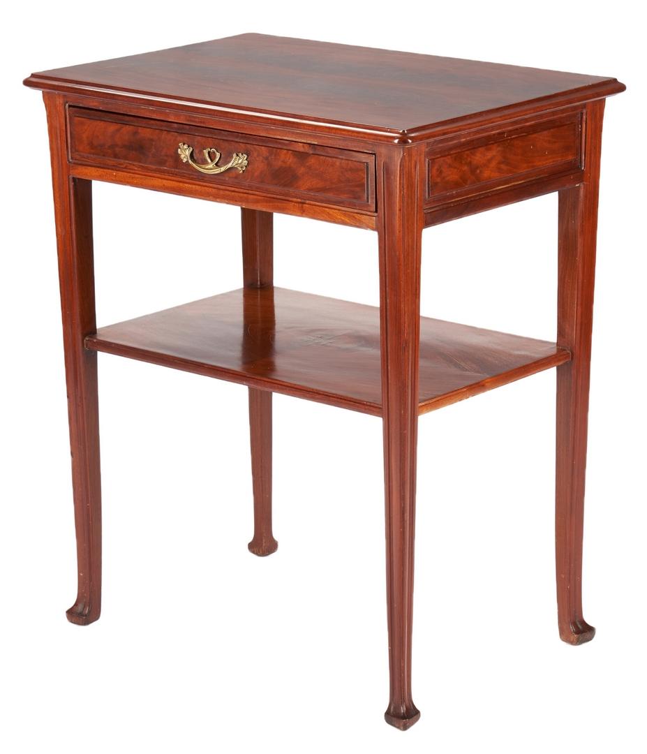 Lot 408: Majorelle Signed Art Nouveau Square Table