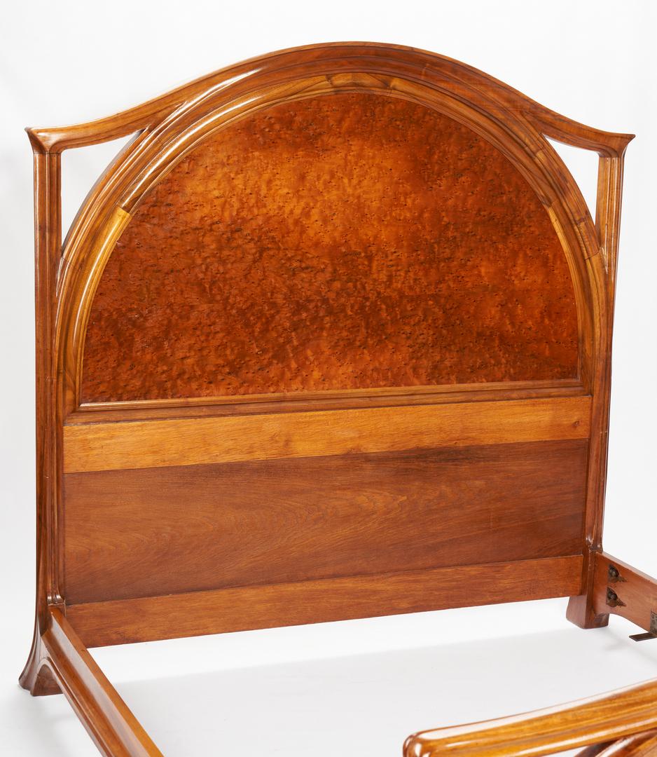 Lot 410: Majorelle French Art Nouveau Bed