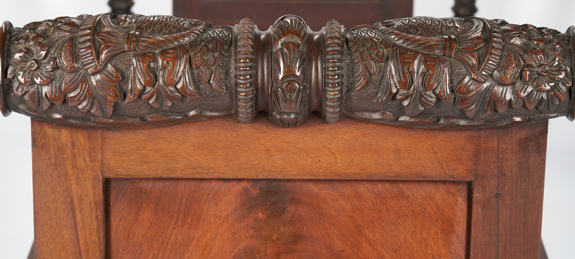 Lot 412: Classical Revival Carved Daybed