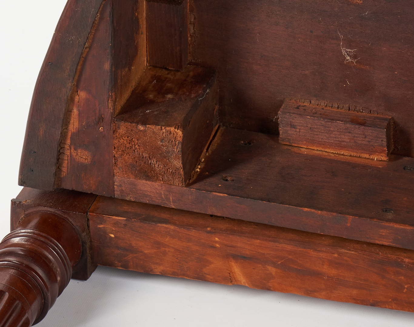 Lot 419: Diminutive Card Table, Likely Massachusetts