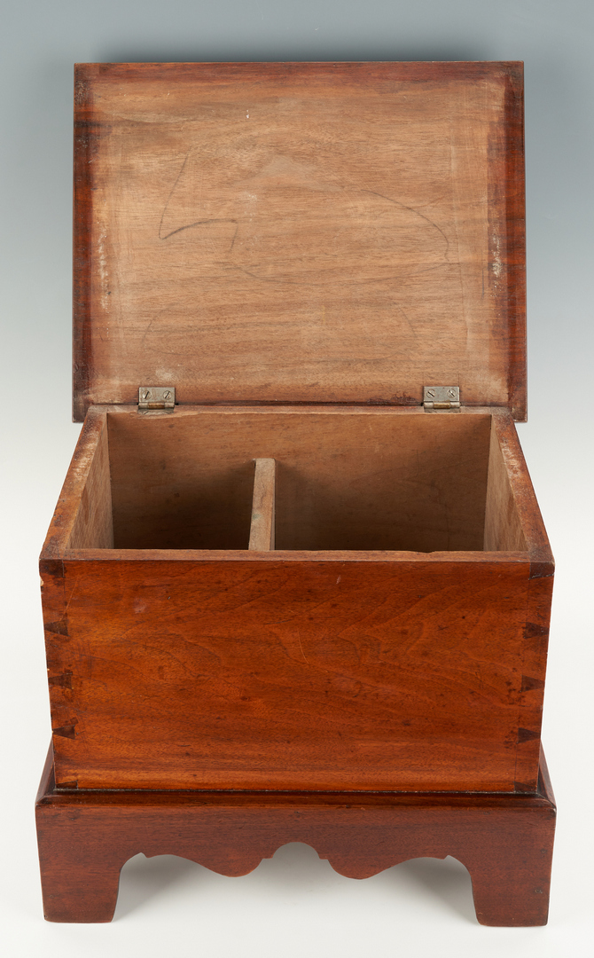 Lot 424: Miniature Sugar Chest or Sugar Box and Bureau