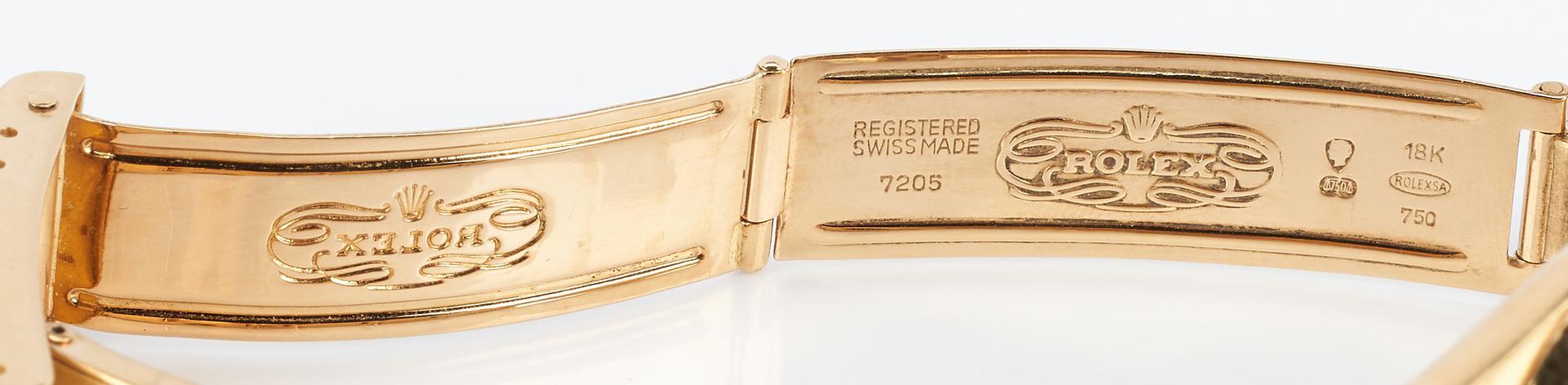 Lot 42: Rolex 18K Date Model Wrist Watch