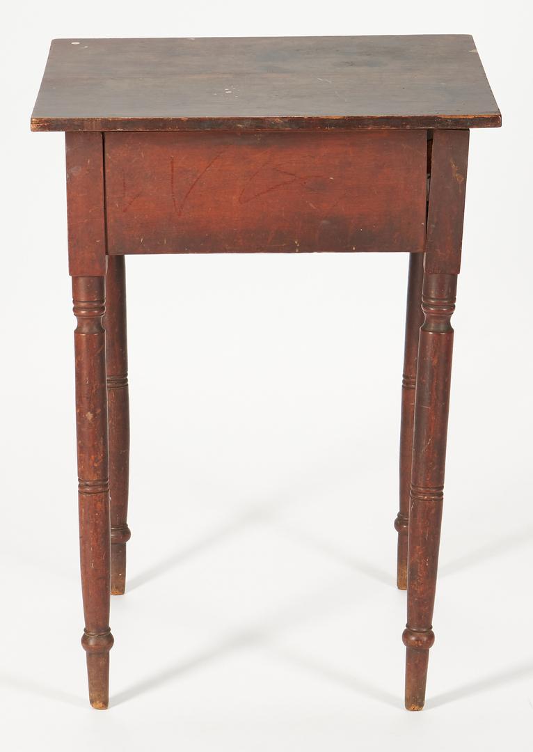 Lot 430: 2 Sheraton Tables, attr. Kentucky