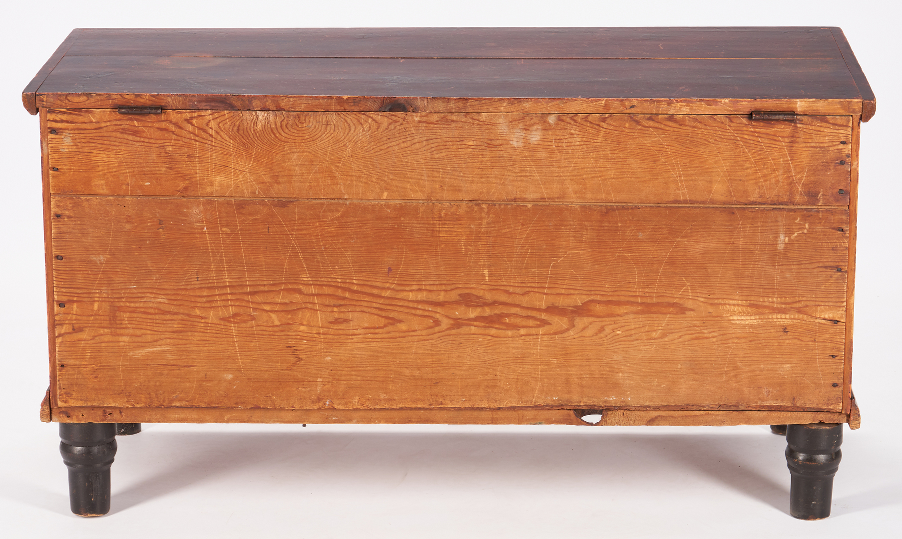Lot 431: American Grain painted blanket chest, Poss. Southern