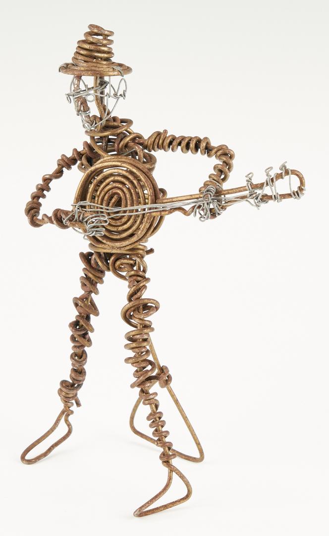 Lot 435: Vannoy Streeter Three-Piece Band Wire Sculptures