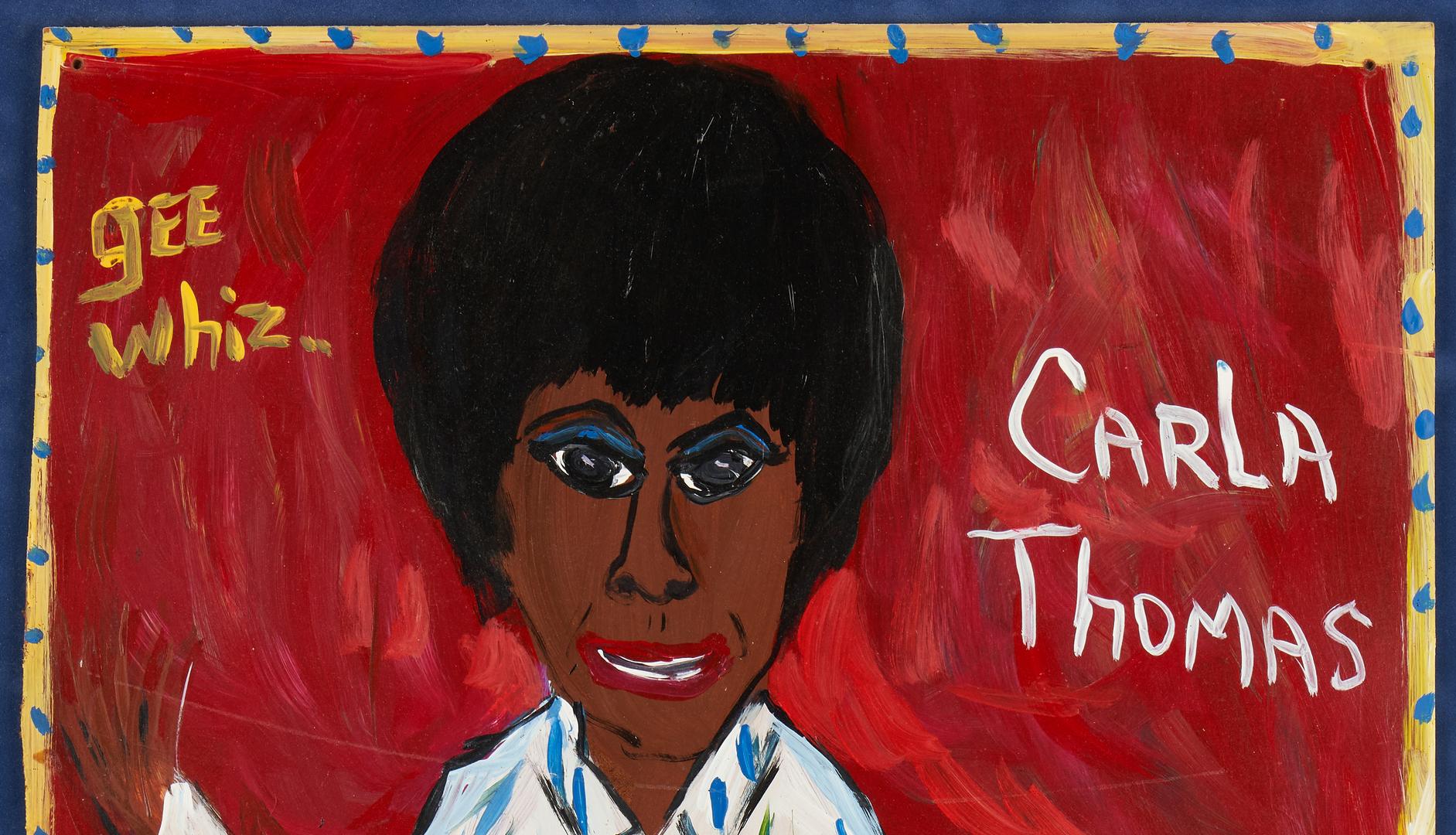 Lot 439: 2 Lamar Sorrento Folk Art Paintings on Board