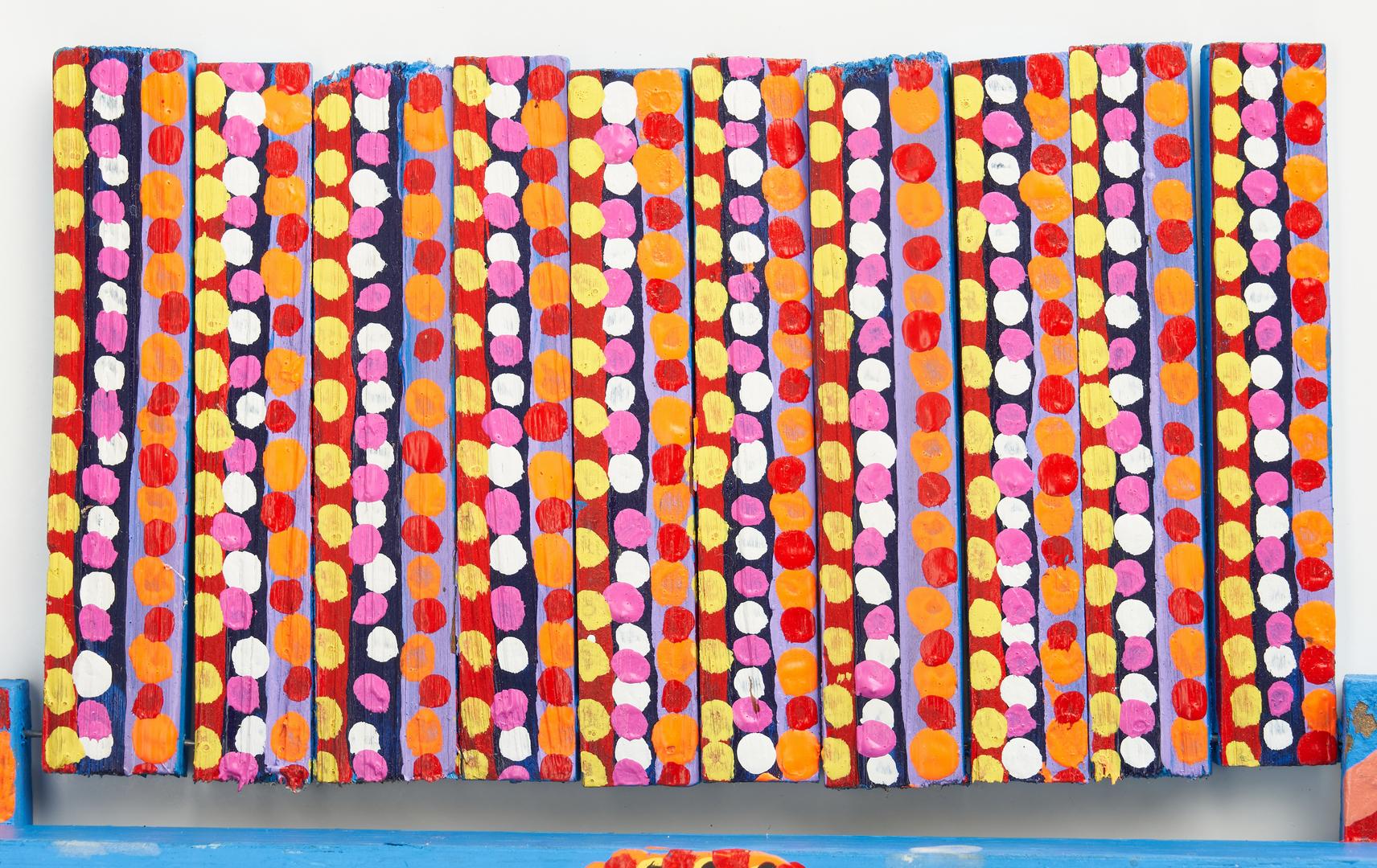 Lot 441: 2 Outsider Art Items, Homer Green & Harold Jennings