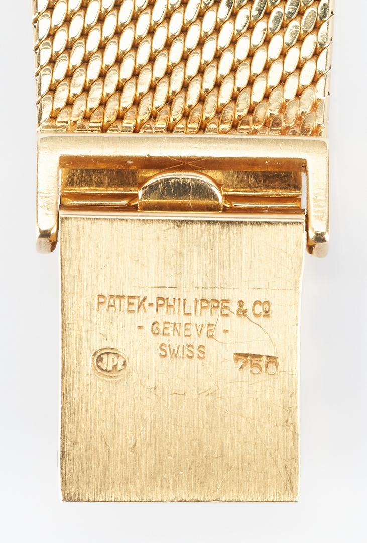 Lot 44: Patek Philippe 18K Yellow Gold Wrist Watch