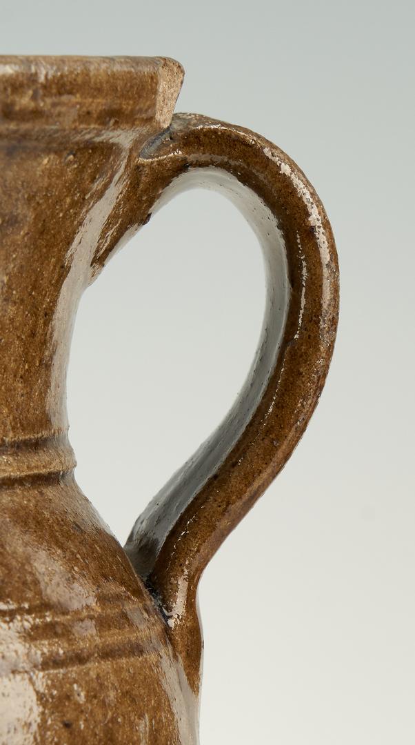Lot 461: 3 Southern Stoneware Pottery Items