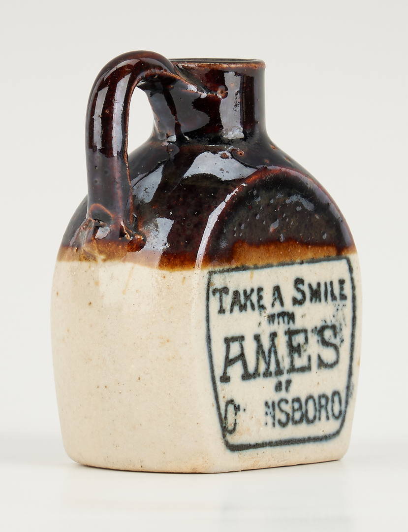 Lot 465: Miniature Kentucky Whiskey Jug, Ames Buggy and Auto