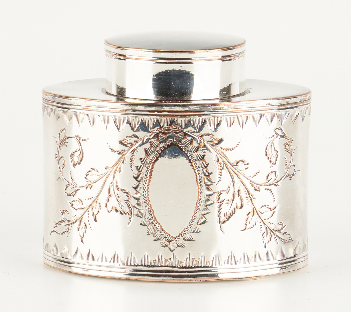 Lot 481: 2 Tea Caddies: Anglo Indian and Old Sheffield