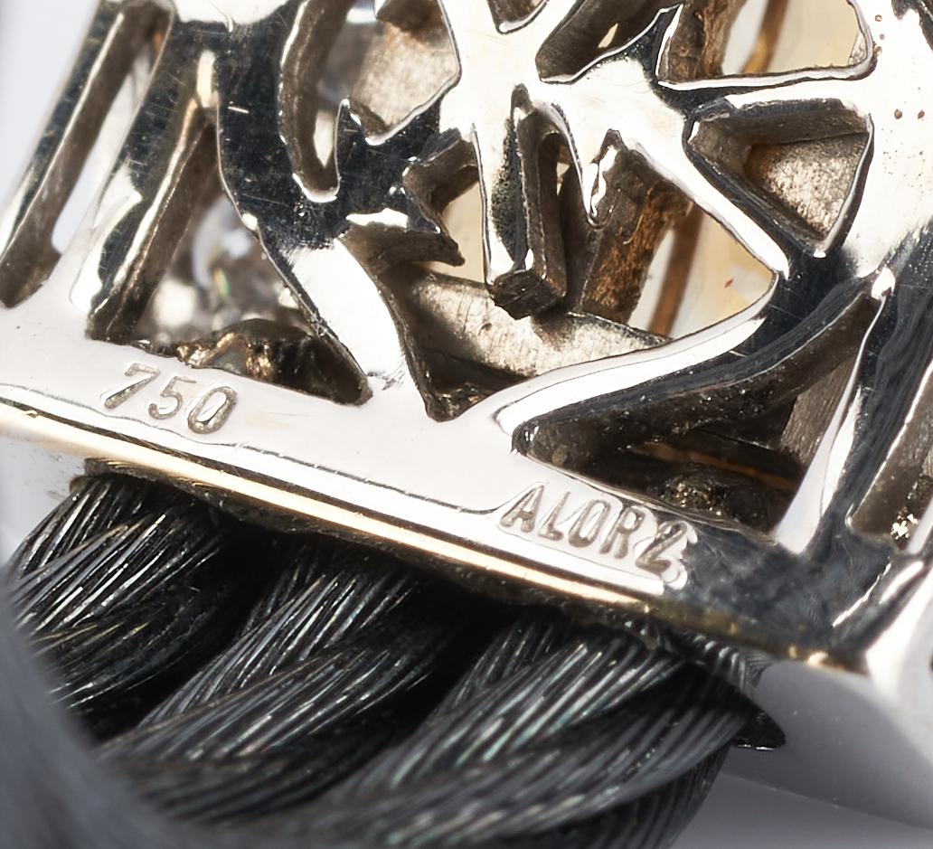 Lot 485: 2 Philippe Charriol 18K Citrine & Diamond Rings