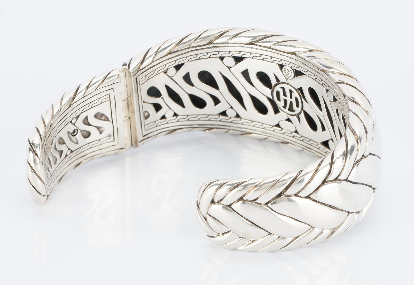 Lot 497: 2 John Hardy Sterling Silver Bracelets