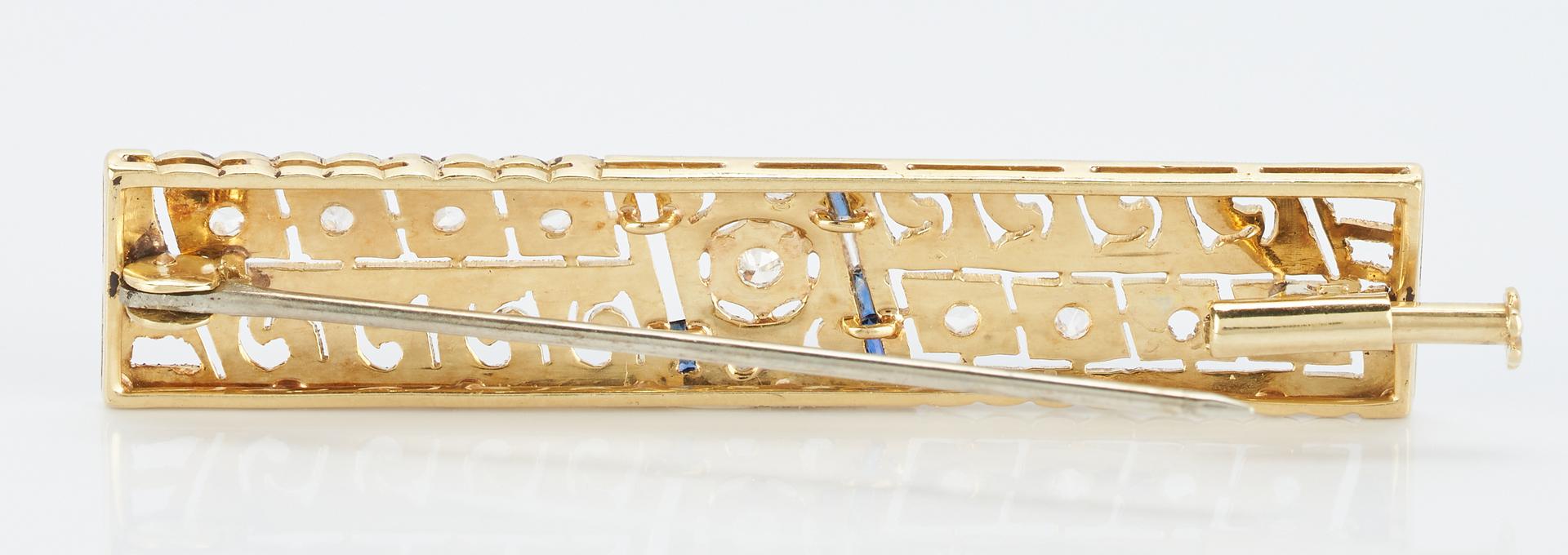 Lot 504: 2 Art Deco Brooches
