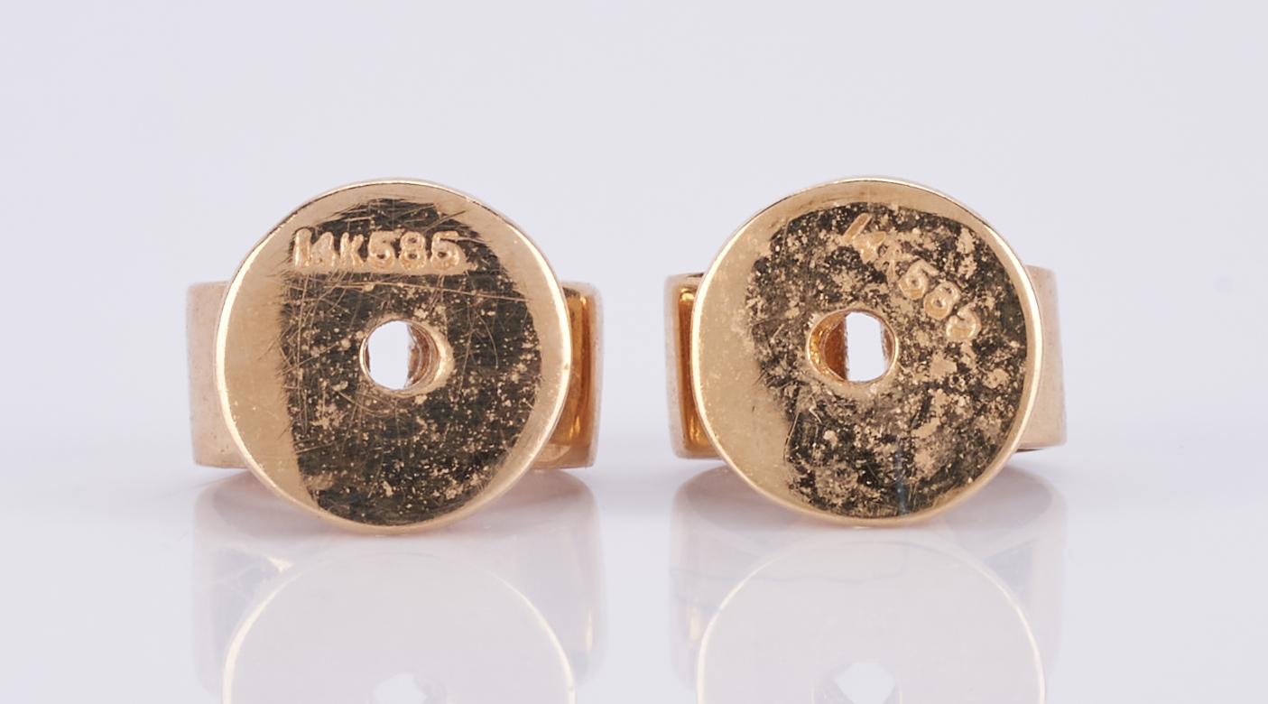 Lot 510: 18K Opal and Diamond Ring + Earrings
