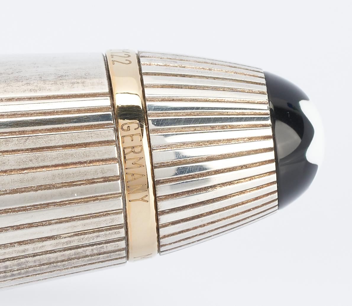Lot 51: 4 Designer Pens, incl. 2 Montblanc, Aurora, Waterman