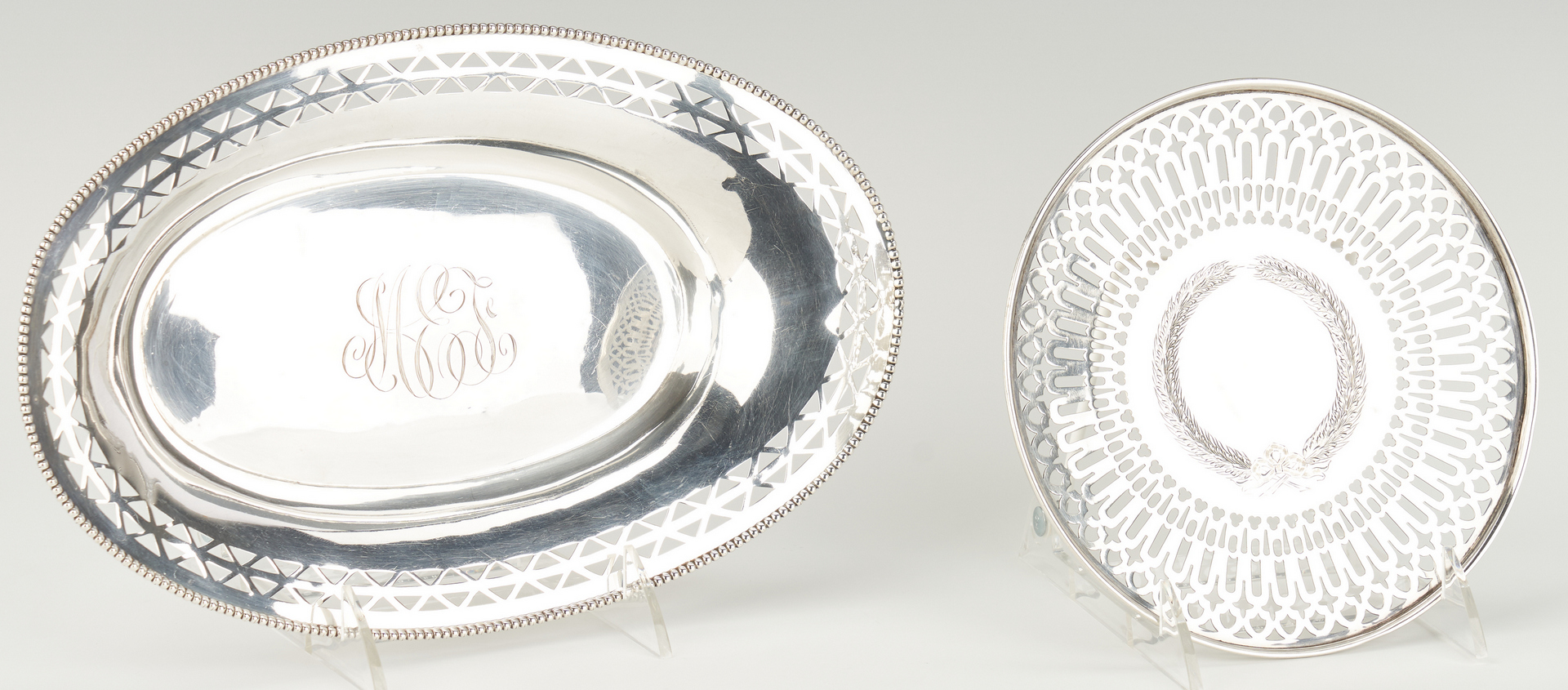 Lot 520: 7 Assembled Sterling Silver Items
