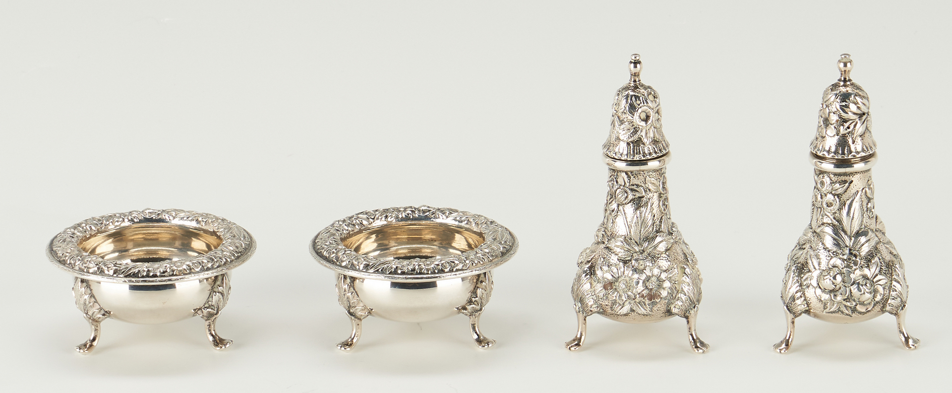 Lot 522: 10 S. Kirk & Son Sterling Serving Items