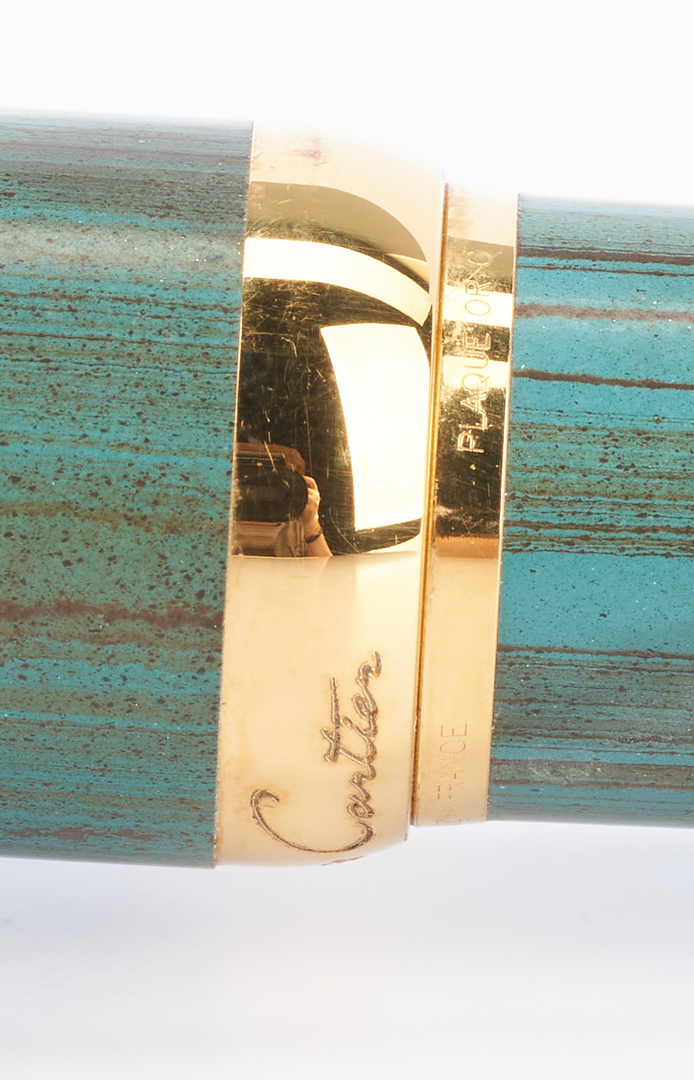 Lot 52: 2 Limited Edition Cartier Fountain Pens